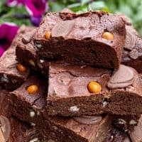 The Chocolate Orange Fudge Brownie Box